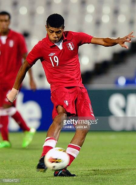 2018 World Cup Wilder Cartagena Veracruz Peru Midfielder