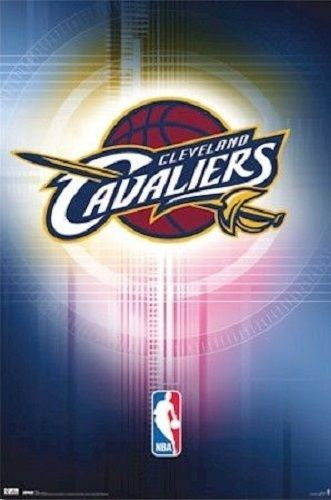 $11.99 - 2010 Costacos Nba Cleveland Cavaliers Cavs Team Logo Poster Print 22X34 #ebay #Collectibles