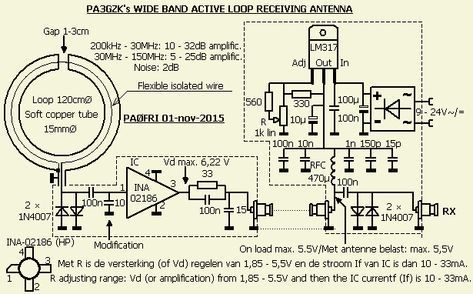 Active receiving loop antenna English version | projects