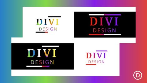 How to Create Colorful Text Background Scroll Animation with Divi