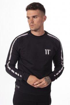 ELEVEN DEGREES Reflective T-Shirt Black