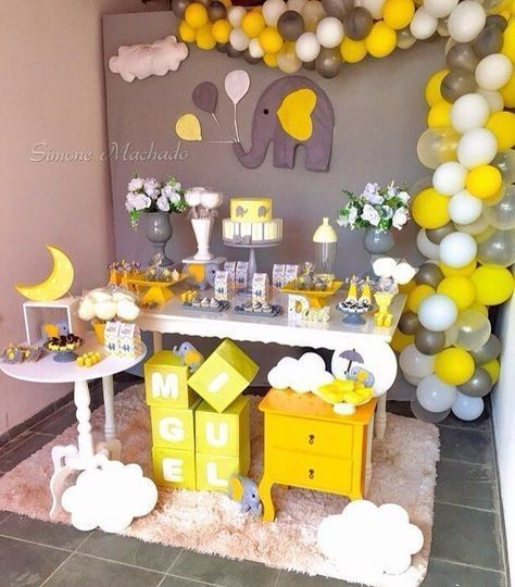 The Cutest Yellow Baby Shower Ideas You Must See Baby Shower