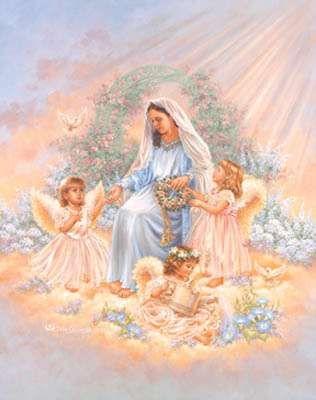 """Artist: Dona Gelsinger Title: """"Gift of Faith"""""""