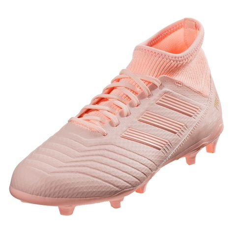 958c979e adidas Predator 18.3 FG Soccer Cleat Clear Orange/Clear Orange/Trace Pink-10
