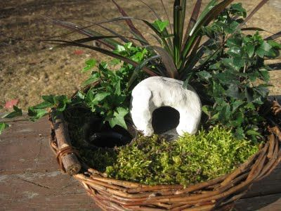 Making an Easter Garden (Embracing the Now)