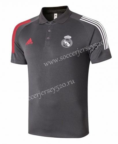 2020 2021 Real Madrid Dark Gray Thailand Polo Shirt 815 In 2020 Polo Shirt Real Madrid Polo