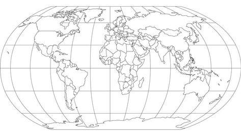 Cartina Muta Del Planisfero.Planisfero Da Colorare E Stampare Colorare Immagini
