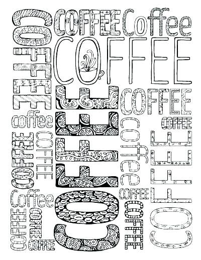 Coffee Cup Coloring Page Coffee Mug Coloring Page Coffee Cup
