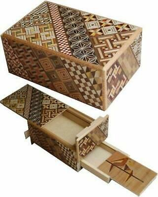Ebay Ad Link 5 Sun 10 Steps With Hidden Drawer Japanese Puzzle Box Japanese Puzzle Box Puzzle Box Metal Puzzles