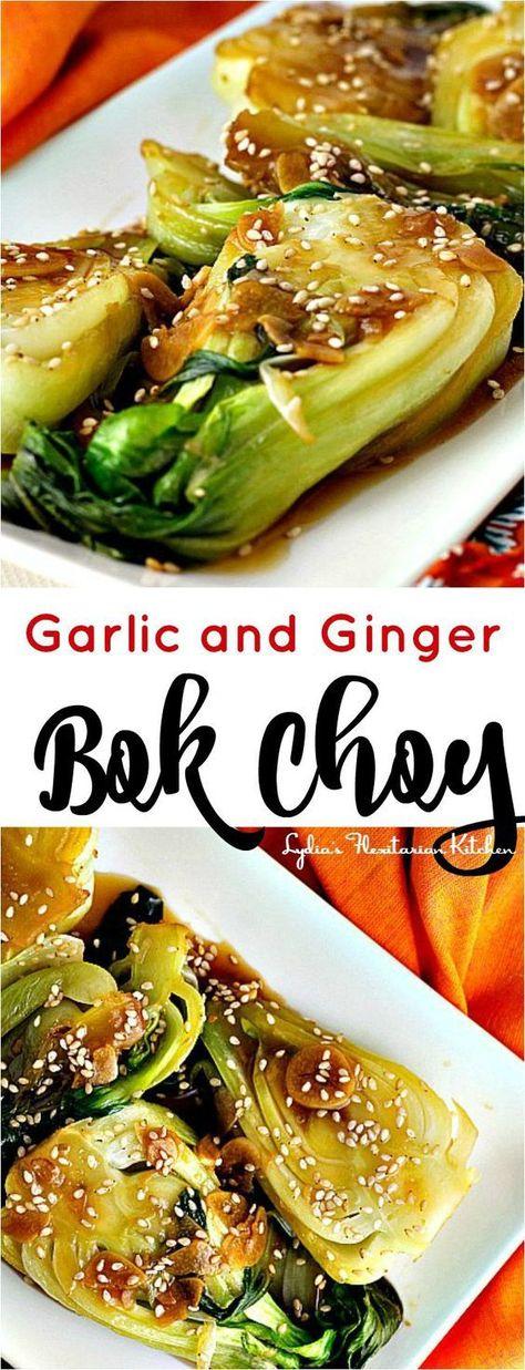 Garlic and Ginger Bok Choy