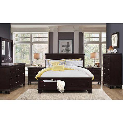 Alton 6 Piece King Storage Bedroom Collection Bedroom