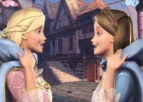 Tell Us Your Barbie Opinions And We Ll Guess Your Favorite Color In 2021 Princess And The Pauper Barbie Movies Barbie Princess