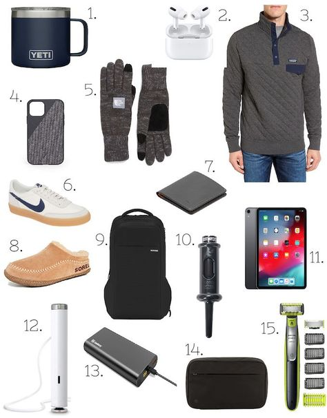 Gifts for Him gift guide with tons of different gift ideas for men! #giftguides #giftideas #giftsforhim