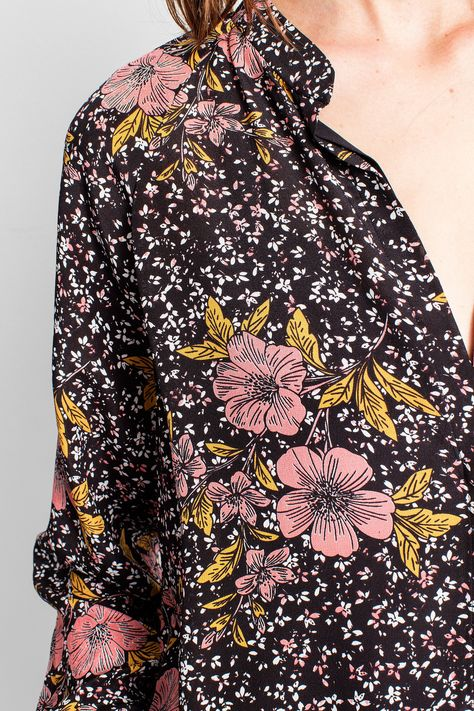 ZADIG & VOLTAIRE Chai Print Shirt. #zadigvoltaire #cloth #