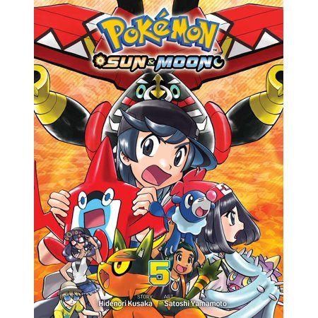 Pokemon Sun Moon Vol 5 Walmart Com In 2020 Anime Fnaf Pokemon Sun Moon
