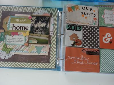 mixing traditional 12x12 scrapbooking with Project Life | Instead of the Laundry...