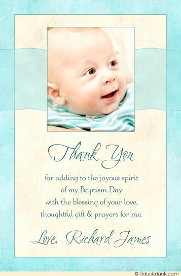 Thank You Cards For Baptism Elegant Blessed Baby Thank You Card Christening Baptism Projects Gi Christening Thank You Cards Boy Baptism Baptism Thank You Cards