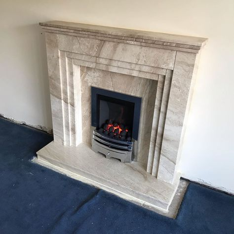 Special Made To Measure Fireplace Made By Blackdiamond Wigan