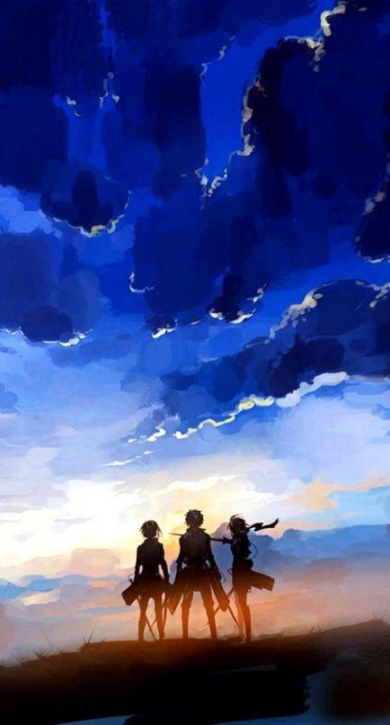 Wall Paper Iphone Anime Attack On Titan 61 Ideas For 2019 Attack On Titan Anime Attack On Titan Fanart Attack On Titan Art