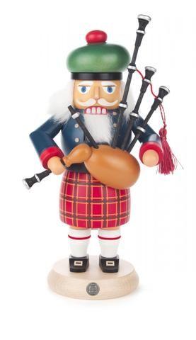 Nutcracker - Scottish Man with Bagpipe