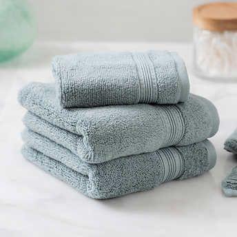 Charisma Soft 100 Hygro Cotton 4 Piece Hand Washcloth Towel Set