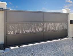 Resultat De Recherche D Images Pour Tole Perforee Decorative Leroy Merlin Portail Aluminium Coulissant Portail Coulissant Porte Principale