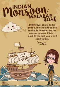 Discover Java Momma's Indian Monsoon Malabar Decaf #javamomma #coffee #directsales