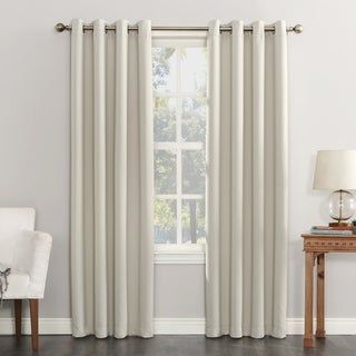 Archaeo Washed Cotton Twist Tab Single Curtain Panel 52 X 63 White Panel Curtains Blackout Curtains Curtains