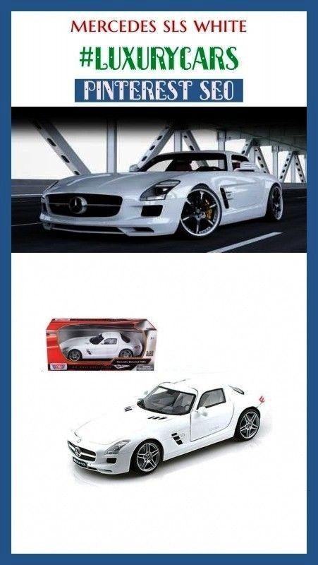 Luxurycars Boardideas Mercedes Mercede White Cars Sls Seo