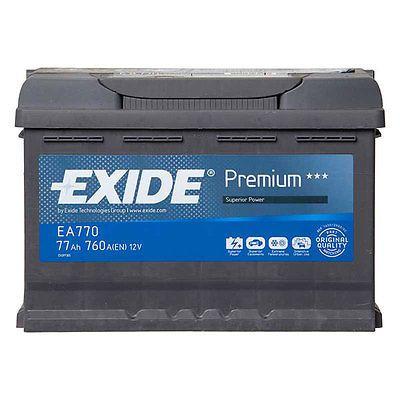 Type 027 Car Battery 640CCA OEM Quality Exide Premium 12V 64Ah 4 Yrs Wty Sealed