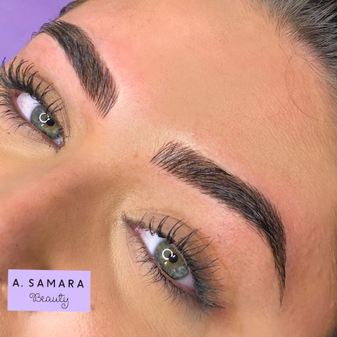 Do you have previously microbladed eyebrows that didn't stick around very long? Make an appointment with Microblading San Diego today so we can discuss your options! Mircoblading Eyebrows, Types Of Eyebrows, How To Grow Eyebrows, How To Color Eyebrows, Thick Eyebrows, Blonde Eyebrows, Drawing Eyebrows, Henna Eyebrows, Straight Eyebrows