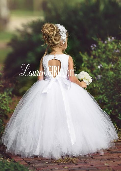A Moment in Time White Lace Gown