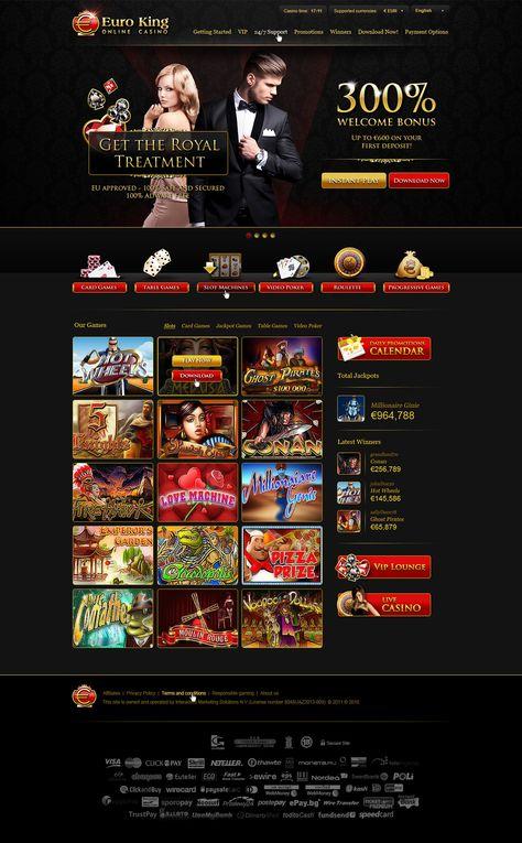 Euroking Casino No Deposit Bonus Code