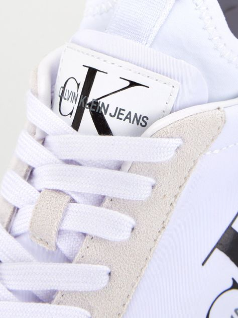 various styles pretty cool another chance Calvin Klein Jemmy CK Logo - White | Calvin klein, Logos, Trainers