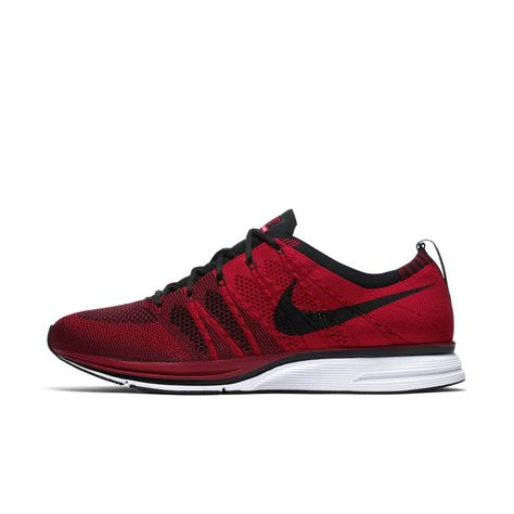 the best attitude ca073 69000 Nike Flyknit Trainer Unisex Shoe Size 9.5 (University Red)