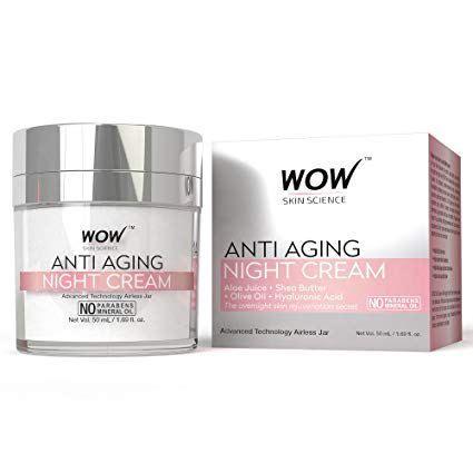 Wow Skin Science Anti Aging Night Cream Anti Aging Night Cream Anti Aging Night Best Anti Aging Creams