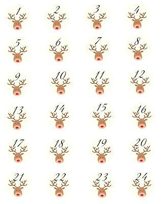 Fundgrube Adventskalender # 2 | SASIBELLA Free printable