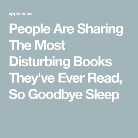 18 Books So Disturbing, People Claim They Truly Traumatized Them — BuzzFeed