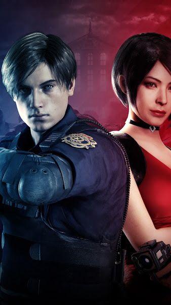 Leon S Kennedy Ada Wong Resident Evil 2 8k 7680x4320 Wallpaper