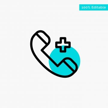 Call Ring Hospital Phone Delete Turquoise Highlight Circle P Highlight Icons Circle Icons Address Png And Vector With Transparent Background For Free Downloa Mail Icon Turquoise Turquoise Highlights