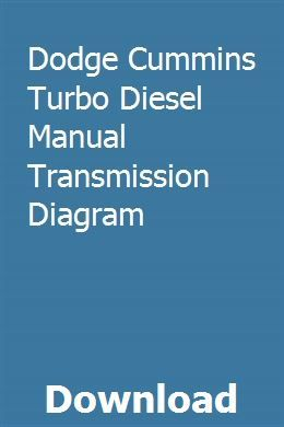 Dodge Cummins Turbo Diesel Manual Transmission Diagram Cummins Turbo Diesel Diesel Trucks Diesel