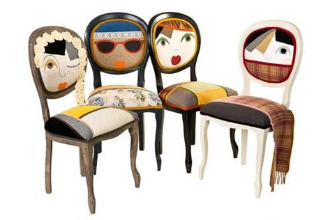 Sedie moderne in legno dal design unico | Vari | Pinterest