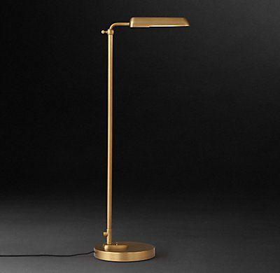 1930s Parisian Task Floor Lamp Task Floor Lamp Lamp Floor Lamp