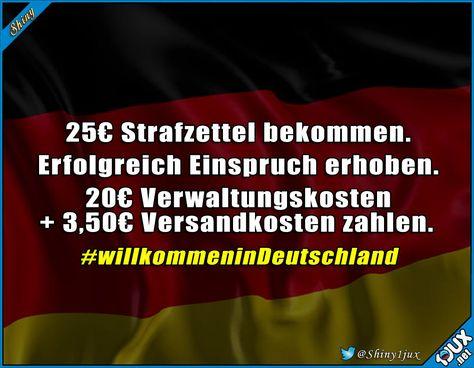 Da hat sich der Einspruch ja echt gelohnt... #Deutschland #sowahr #truestory #fail #lustigefails