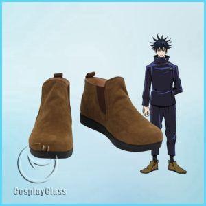 Jujutsu Kaisen Fushiguro Megumi Cosplay Shoes Cosplayclass In 2021 Cosplay Shoes Shoes Cosplay Boots