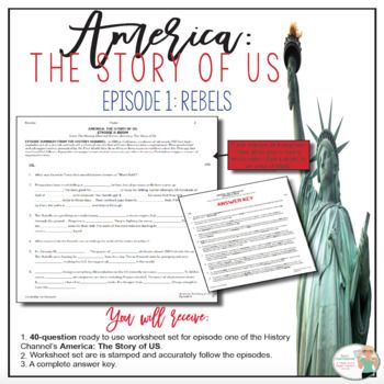 Question Bank With Answers For America The Story Of Us Rebels