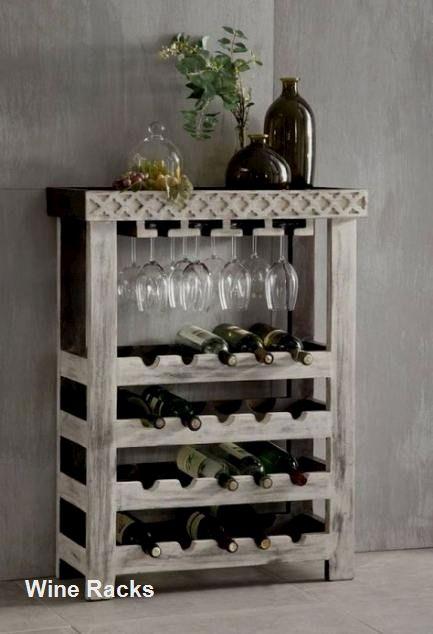 14 Diy Wine Racks Made Of Wood In 2020 With Images Diy Wine