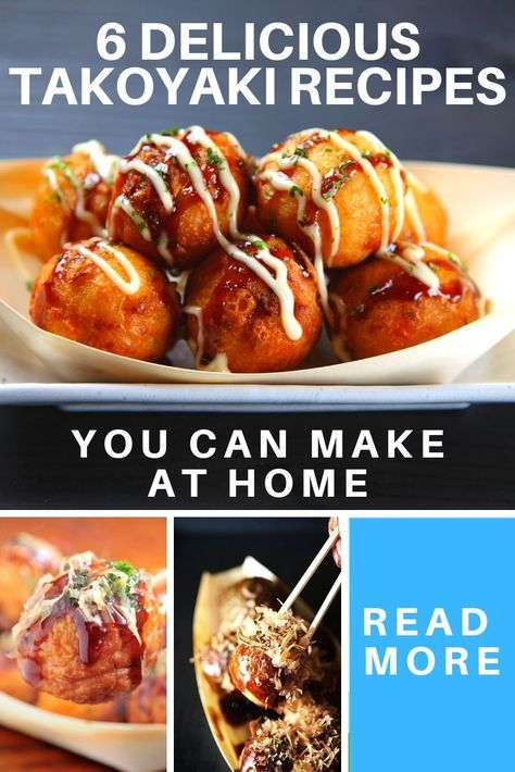 6 Delicious Takoyaki Recipes What It Is Diced Tempura Octopus Resep Masakan Resep Makanan Resep
