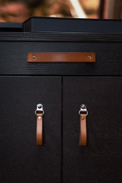Leather Handle The Tilikum 3 Sizes In 2020 Leather Drawer