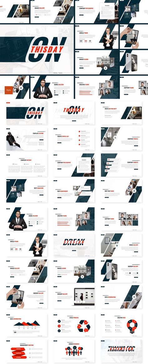 Onthisday - Powerpoint Presentation Template